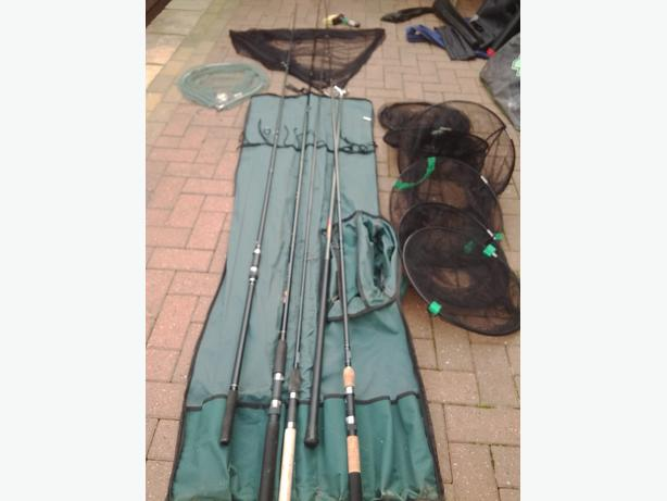 Fishing gear for sale wednesbury dudley for Used fishing gear for sale