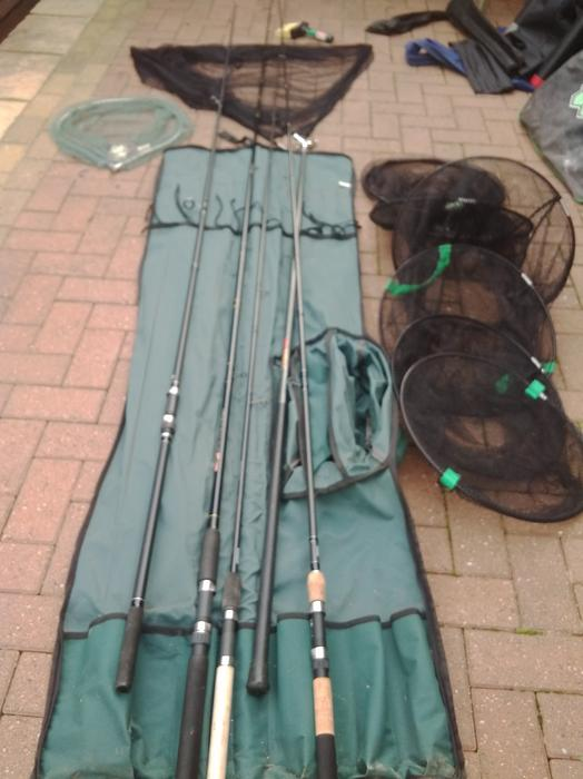 Fishing gear for sale wednesbury dudley for Fishing equipment for sale