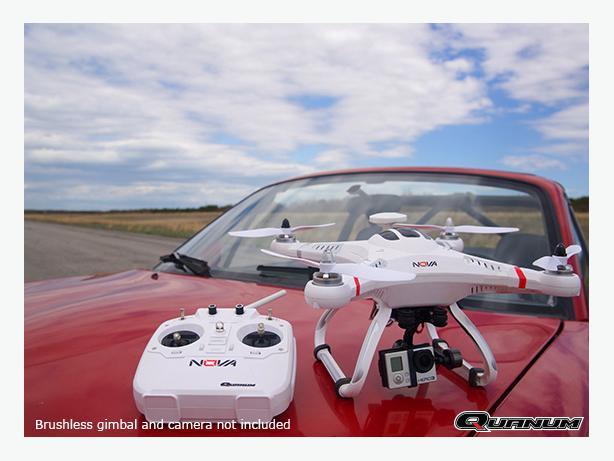 Quanum Nova Aerial Photography Drone   FPV GIMBLE Quad copter