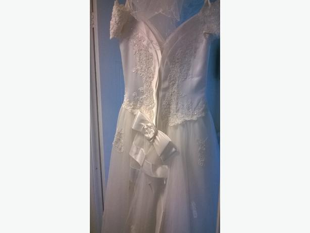 FOR TRADE: wedding dress