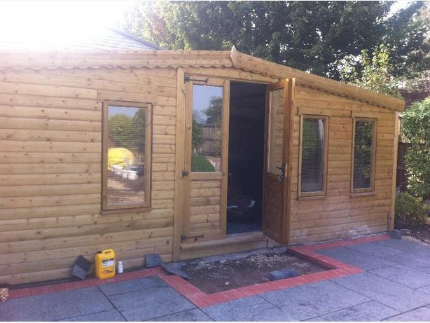 garden sheds free local delivery