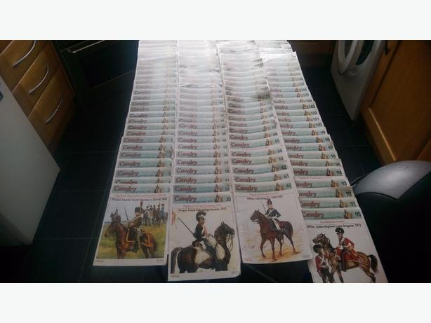 Del prado Cavalry of the nepolionic era 120 boxed soliders