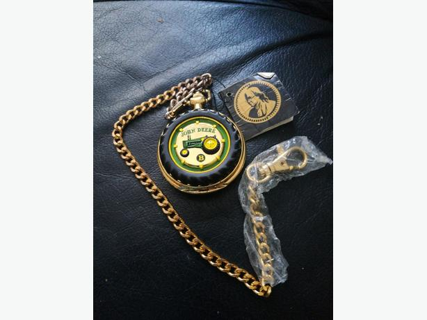 JOHN DEERE FOB WATCH.