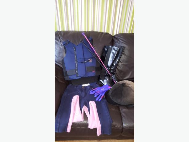 Girls Equestrian Horse Riding Equipment