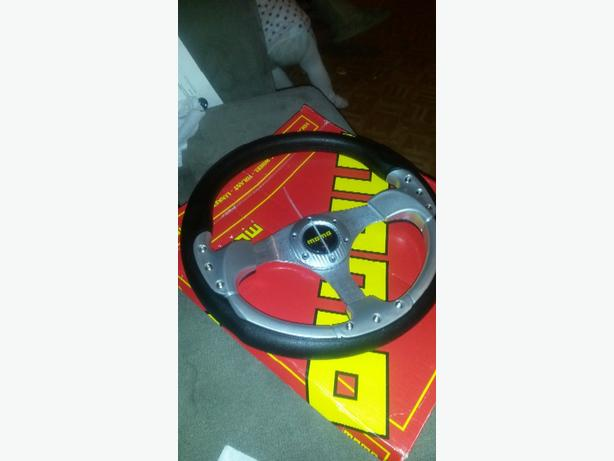 mono steering wheel brand new!!