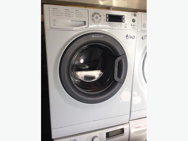 HOTPOINT 8KG WASHING MACHINE01