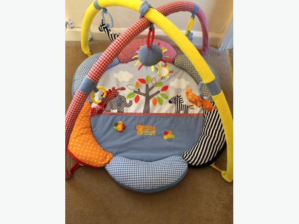 kiddicare sunny safari play mat