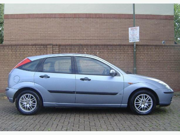 FORD FOCUS 1.6 LX ZETEC PETROL 5 DOOR HATCHBACK