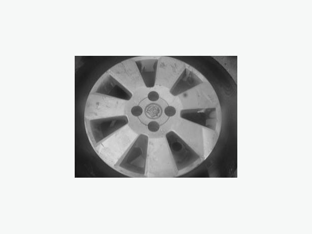 set of 4 vauxhall alloy wheels & tyres 4 stud /185/60/15