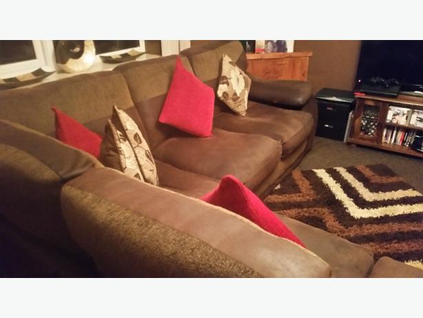 5 seater corner sofa
