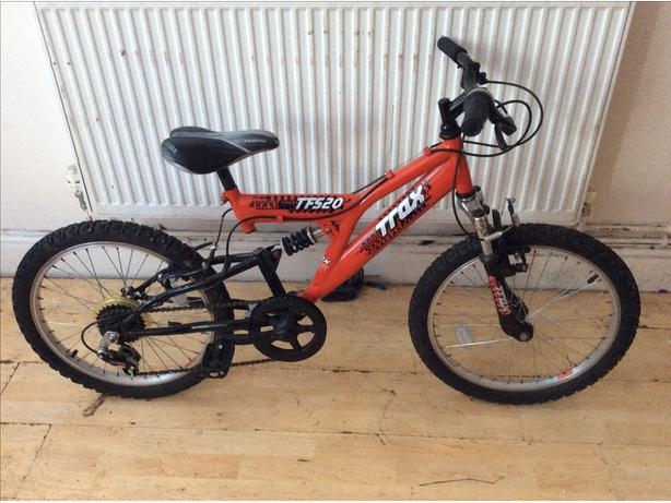 "BOYS  20"" TRAX TFS20 BIKE AGE 7+ YEARS"