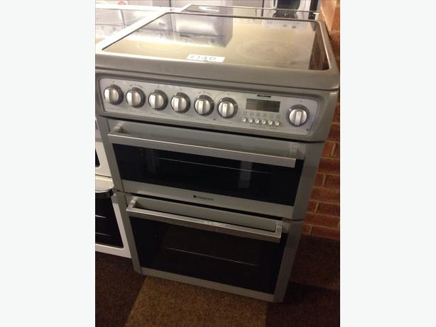 HOTPOINT 60CM DOUBLE OVEN ELECTRIC COOKER5
