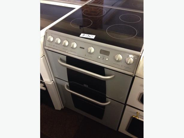 HOTPOINT CREDA DOUBLE OVEN ELECTRIC COOKER08