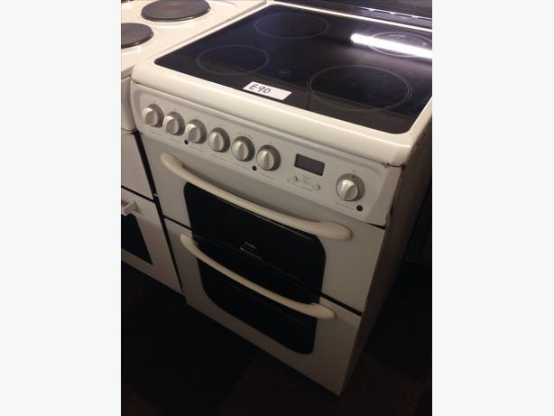 HOTPOINT CREDA 60CM ELECTRIC COOKER01