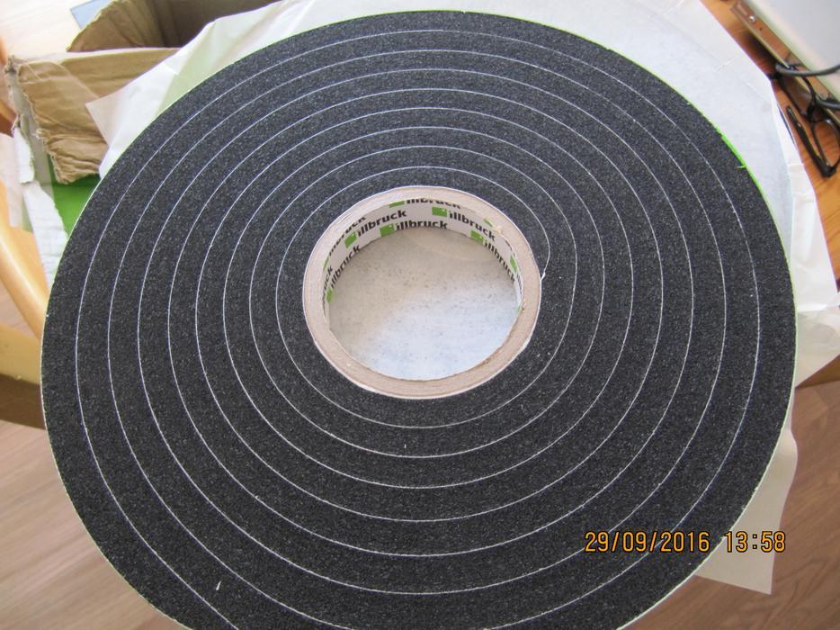 illbruck tp600 compriband weatherseal color anthracite 20. Black Bedroom Furniture Sets. Home Design Ideas