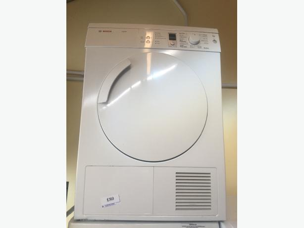 bosch dryer vented free delivery