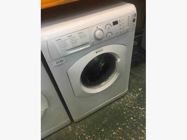 7kg hotpoint washer free delivery