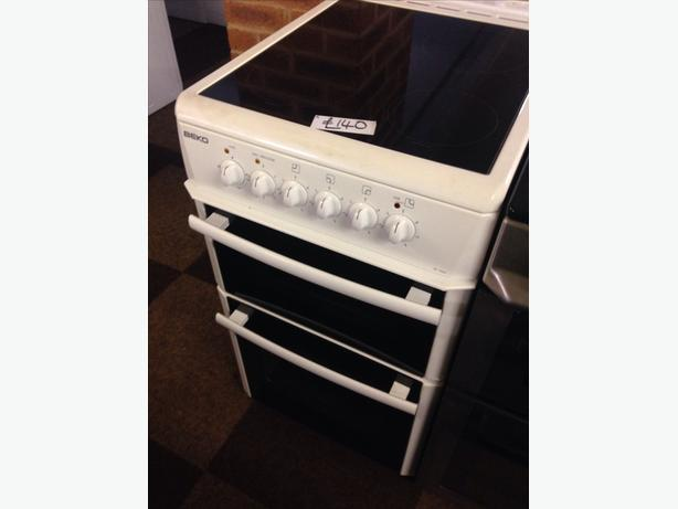 BEKO 50CM CERAMIC TOP ELECTRIC COOKER0