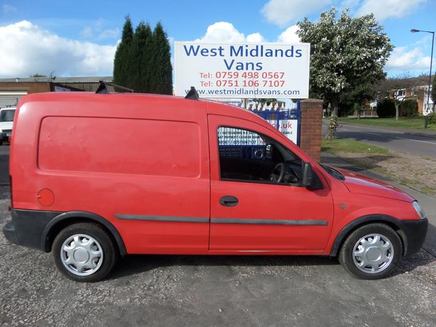 04 PLATE VAUXHALL COMBO 1700 DTI 1.7 DIESEL