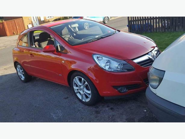 vauxhall corsa 1.2 80k very clean car