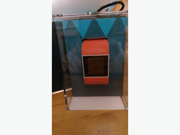 Orange fitbit surge small