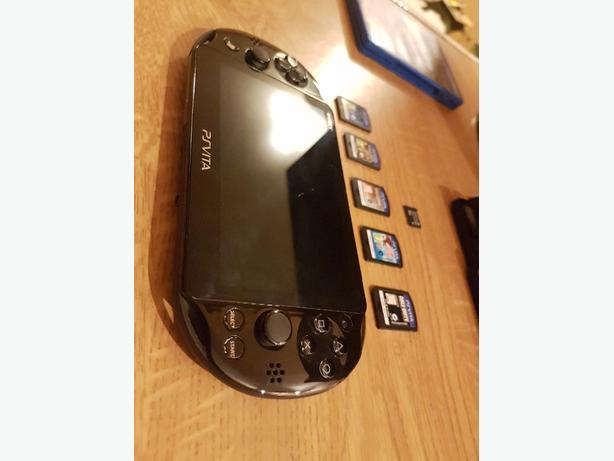 PS VITA slim and Top games