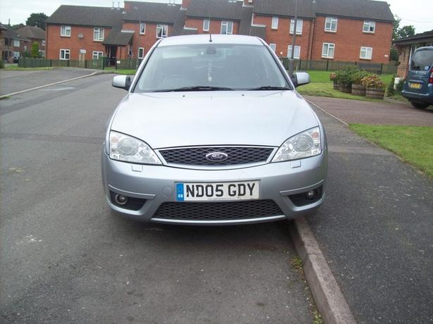 Mondeo St tdci/05 plate