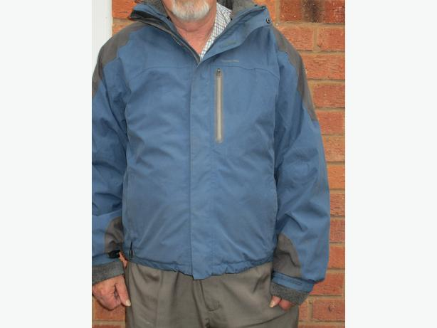Mens waterproof coat