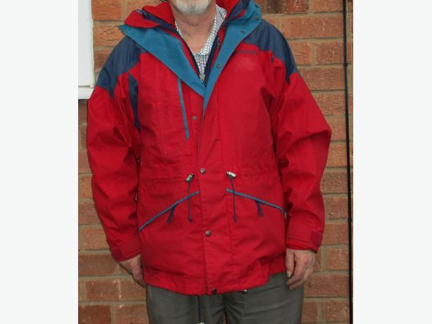 Mens waterproof coat