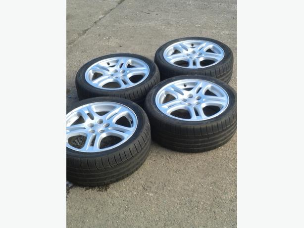subaru impreza newage alloys  17""
