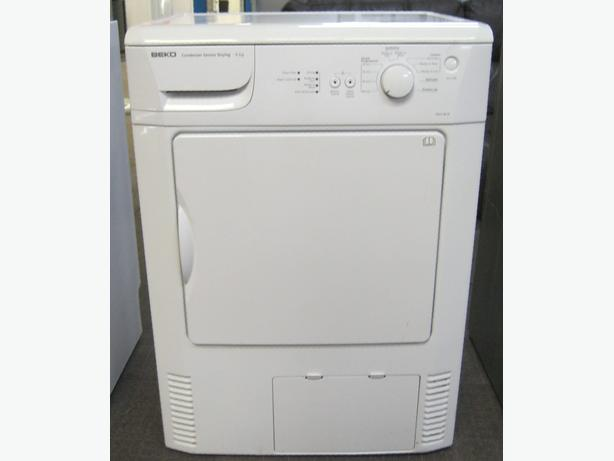 Beko 6kg Capacity Condenser Tumble Dryer, VGC, 6 Month Warranty