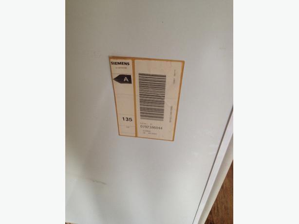 siemens fridge intergated