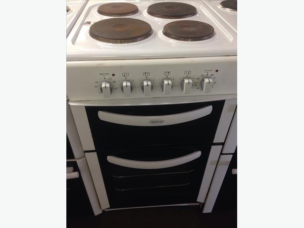 BELLING 50CM ELECTRIC COOKER PLATED TOP