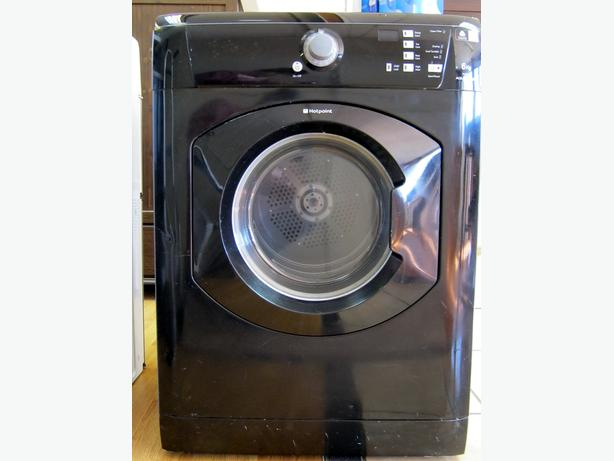 Hotpoint Black 6kg Capacity Vented Tumble Dryer TVF760, 6 Month Warranty