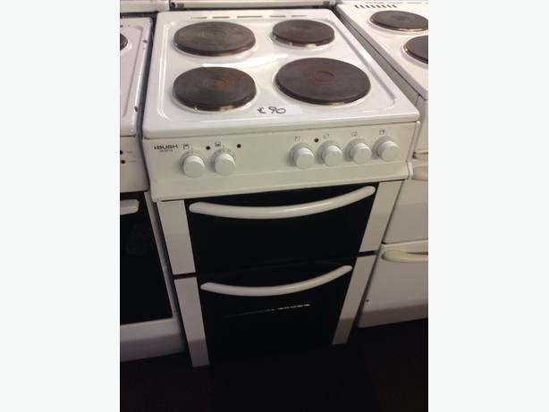 BUSH PLATED TOP 50CM ELECTRIC COOKER00