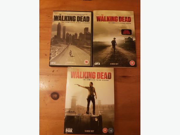Walking Dead Dvds