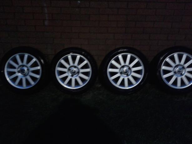 "4 X 16"" ALLOY WHEELS IMMACULATE CONDITION"