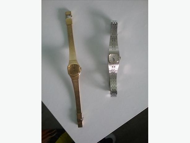 2 vintage seiko wind eup watches