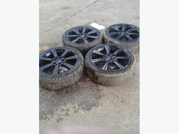 Subaru impreza hawkeye 17inch alloy wheels