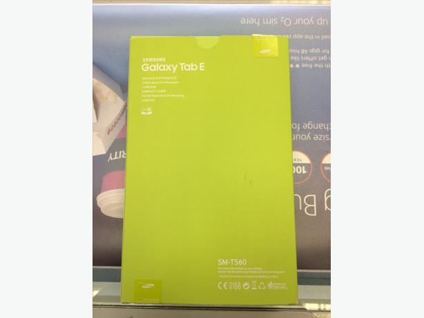 Samsung Tab E SM-T560 New Only £120