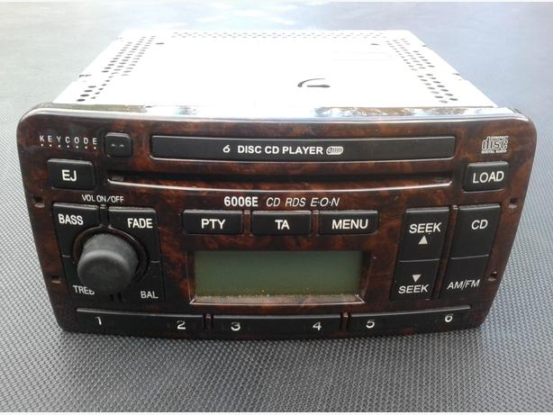 FORD 6006E 6 DISK CD CHANGER