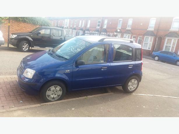 Blue Fiat Panda