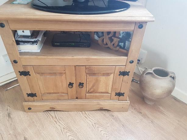 tv unit and set of tables