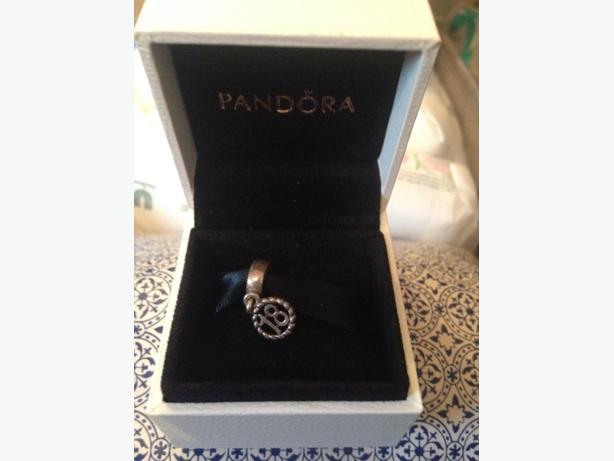 ono - 18th Pandora Charm