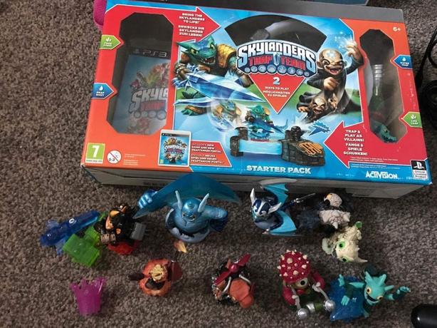 skylandlanders trap team bundle