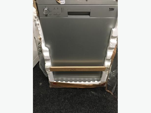 Beko full-size 60cm Silver A+ Dishwasher