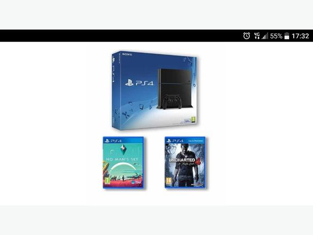 brand new ps4 with games