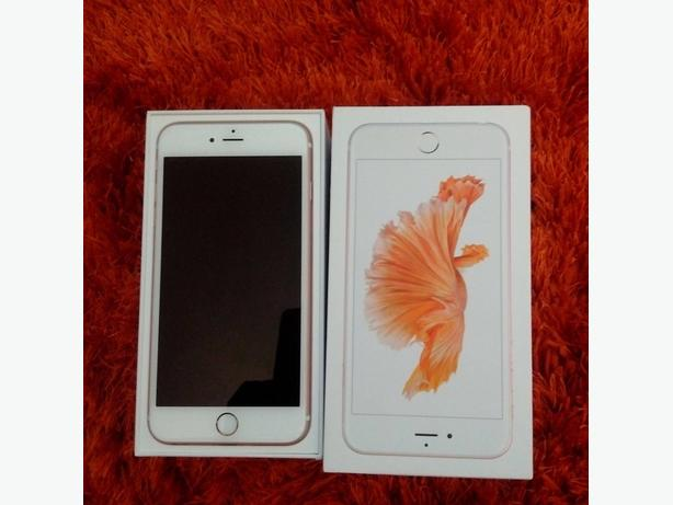 "APPLE IPHONE 6S PLUS 5.5"" 128GB Unlocked Rose Gold NEW CONDITION with Warranty"