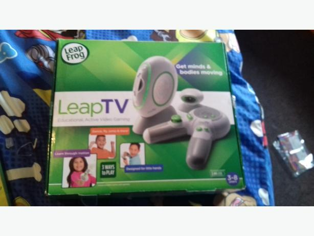 brand new leap TV