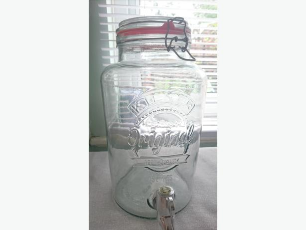 5ltr Glass Kilner drinks barrel
